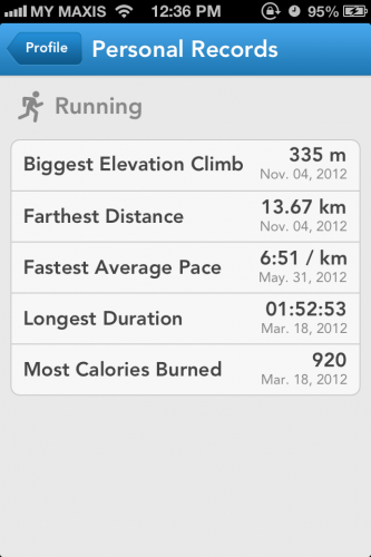 Runkeeper Screen 9