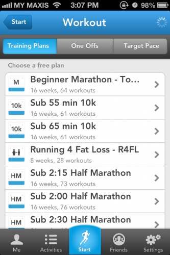 Runkeeper Screen 3