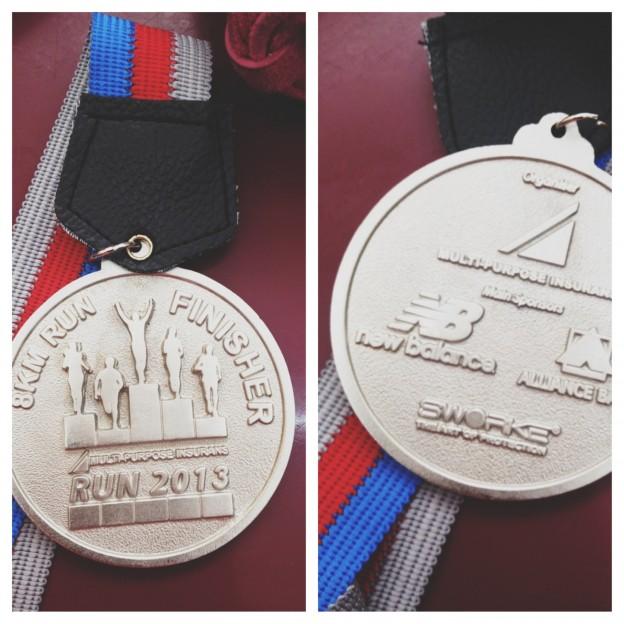 MPIB 2013 Medal - 8km